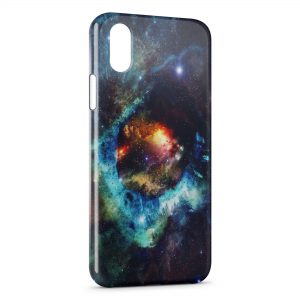 Coque iPhone X & XS Galaxy 4