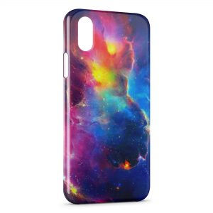 Coque iPhone X & XS Galaxy 6