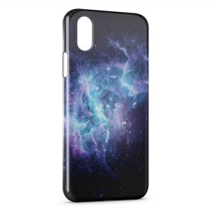 Coque iPhone X & XS Galaxy 8
