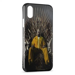 Coque iPhone X & XS Game of Thrones Breaking Bad Heinsenberg