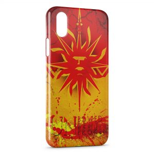 Coque iPhone X & XS Game of Thrones Un Bowed Bent Broken Martell