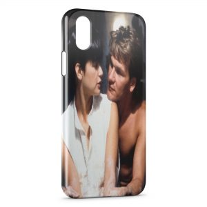 Coque iPhone X & XS Ghost Patrick Swayze Demi Moore