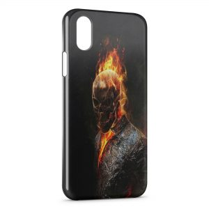 Coque iPhone X & XS Ghost Rider 2