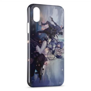 Coque iPhone X & XS Ghost in the Shell
