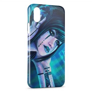Coque iPhone X & XS Girl Music High Tech