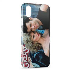 Coque iPhone X & XS Grease John Travolta Olivia Newton-John