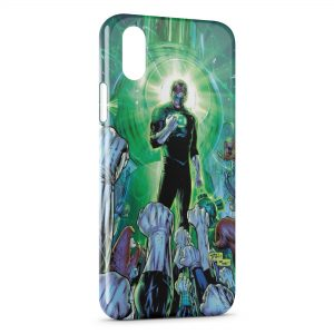 Coque iPhone X & XS Green Lantern 2