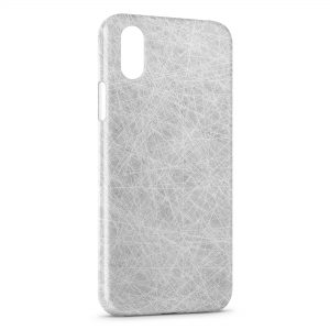 Coque iPhone X & XS Grey Style Graphic