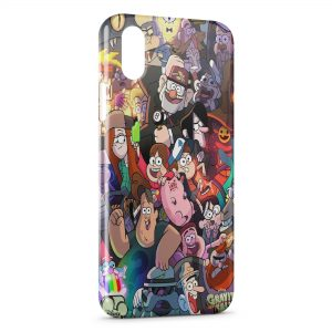 Coque iPhone X & XS Groupe de Cartoons