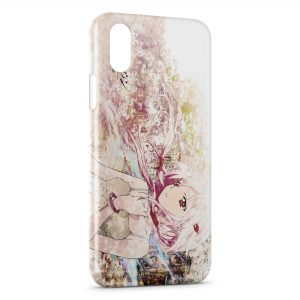 Coque iPhone X & XS Guilty Crown Manga