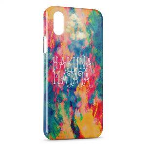 Coque iPhone X & XS Hakuna Matata