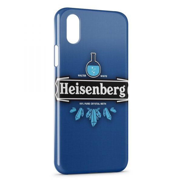 Coque iPhone X & XS Heinsenberg Breaking Bad Pure Crystal Meth