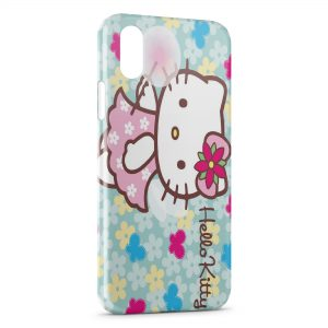 Coque iPhone X & XS Hello Kitty 4