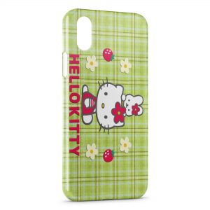 Coque iPhone X & XS Hello Kitty 5