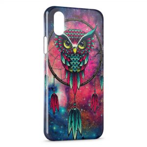 Coque iPhone X & XS Hiboux Catch Dreamer Graphic 2
