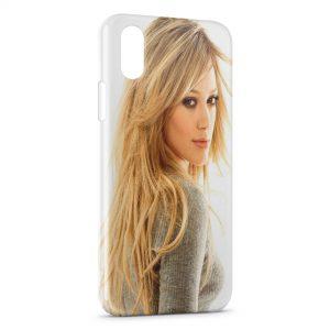 Coque iPhone X & XS Hilary Duff
