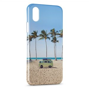 Coque iPhone X & XS Hippie & Plage 2