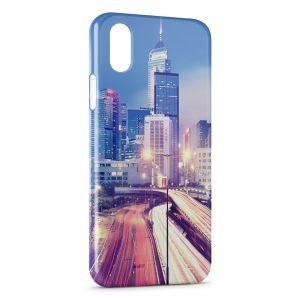 Coque iPhone X & XS Hong Kong