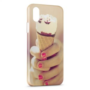 Coque iPhone X & XS Ice Cream
