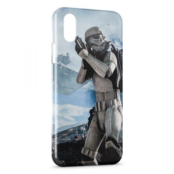 Coque iPhone X & XS Ice Stormtrooper Star Wars