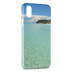 Coque iPhone X & XS Ile paradisiaque
