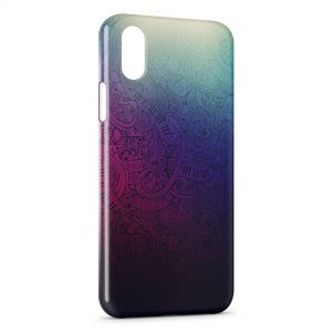 Coque iPhone X & XS Indian Art