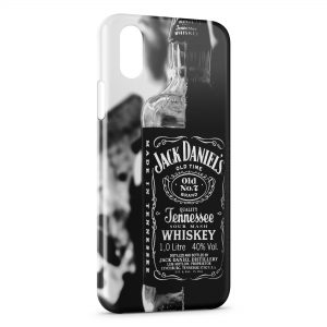 Coque iPhone X & XS Jack Daniels Black 2
