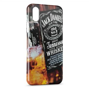 Coque iPhone X & XS Jack Daniel's Black Design
