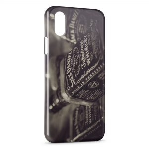 Coque iPhone X & XS Jack Daniel's Tennessee Whiskey Vintage
