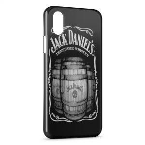 Coque iPhone X & XS Jack Daniels Tonneaux
