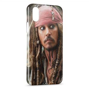 Coque iPhone X & XS Jack Sparrow 2