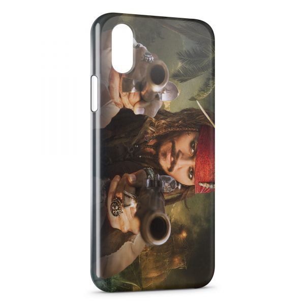 Coque iPhone X & XS Jack Sparrow