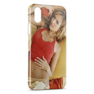 Coque iPhone X & XS Jessica Alba