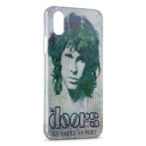Coque iPhone X & XS Jim Morrison The Doors