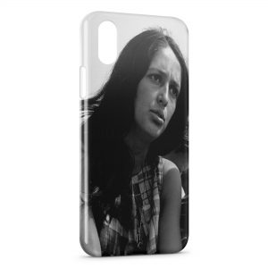 Coque iPhone X & XS Joan Baez 2