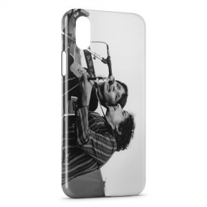 Coque iPhone X & XS Joan Baez & Bob Dylan 2