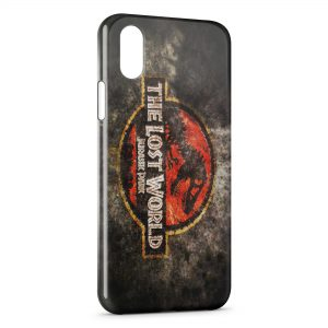 Coque iPhone X & XS Jurassic Park