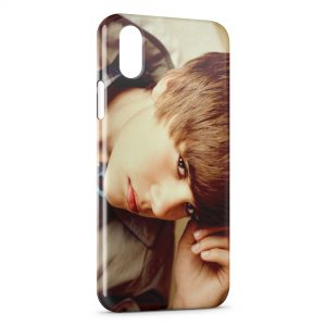 Coque iPhone X & XS Justin Bieber