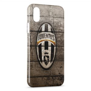 Coque iPhone X & XS Juventus Football Art