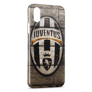 Coque iPhone X & XS Juventus Football Club Bois