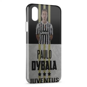 Coque iPhone X & XS Juventus Football Paulo Dybala