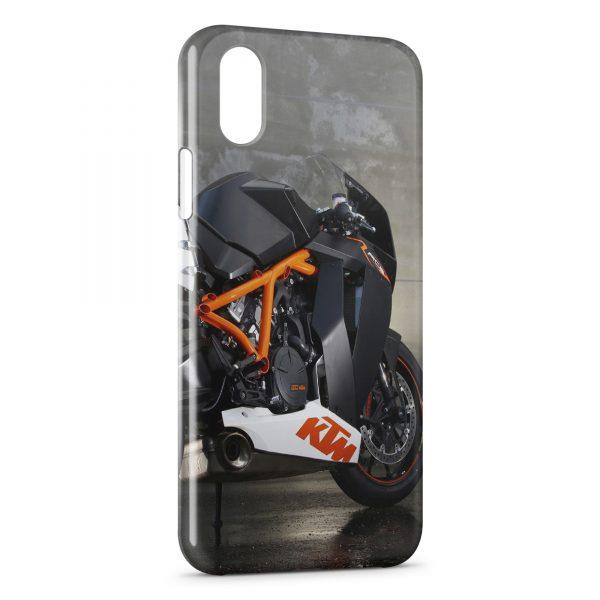 Coque iPhone X & XS KTM 1190 RC8 R Moto
