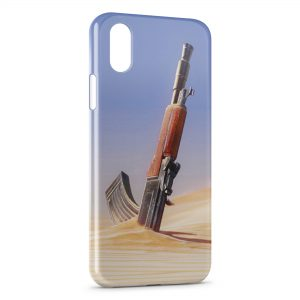 Coque iPhone X & XS Kalachnikov AK47