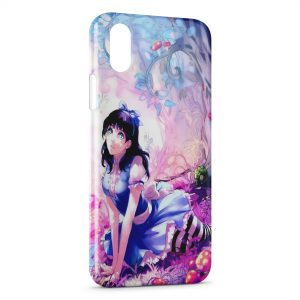 Coque iPhone X & XS Kawaii Girl 2