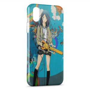 Coque iPhone X & XS Kawaii Girl 3