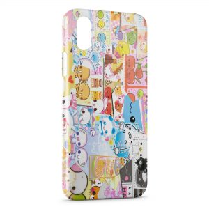 Coque iPhone X & XS Kawaii Melting pot