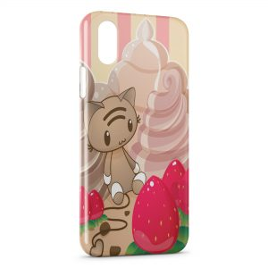 Coque iPhone X & XS Kawaii Style Candy