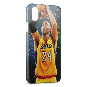 Coque iPhone X & XS Kobe Bryant Lakers Basketball
