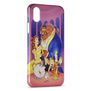 Coque iPhone X & XS La Belle et La Bete 3