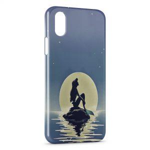 Coque iPhone X & XS La Petite Sirène Ariel Water